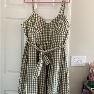 Eloquii gingham dress 22